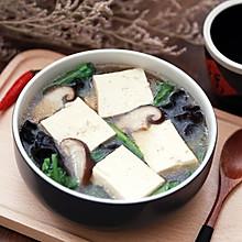 #秋天怎么吃#豆腐白菜木耳汤