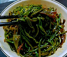 油豇豆角咸菜的做法