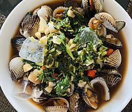 潮汕血蛤的做法