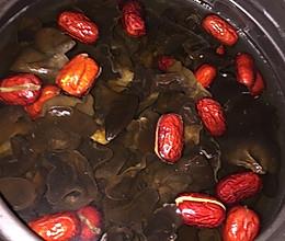 黑木耳红枣汤——补血排毒,治贫血,体虚和白带的做法