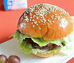 拒绝过期肉:自制汉堡的做法