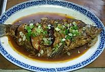 红烧淡水鲳鱼的做法