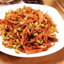 黄豆芽炒千张—迷迭香