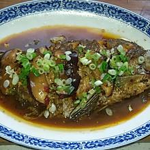 红烧淡水鲳鱼