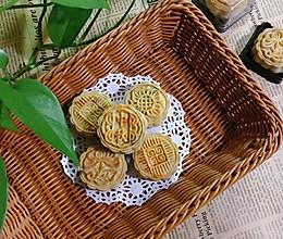 广式豆沙(蛋黄)月饼的做法