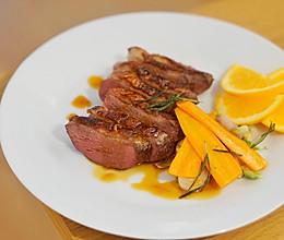 家庭法式料理 | 香料鸭胸肉, 酸甜香橙酱汁,简易法餐轻松做的做法