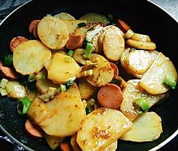 孜然土豆片的做法