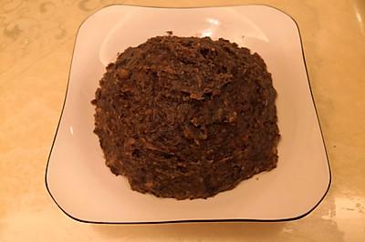 自制黑豆沙
