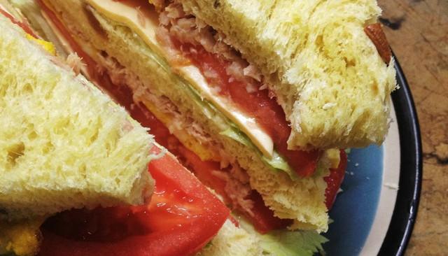 #梅太厨房#三明治的做法