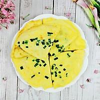 #福气年夜菜#又香又柔软葱花鸡蛋饼的做法图解11