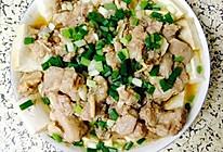排骨蒸豆腐的做法