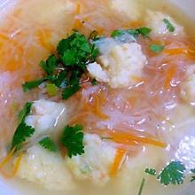 虾丸萝卜丝汤