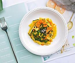 快手菜丨三鲜黄喉的做法