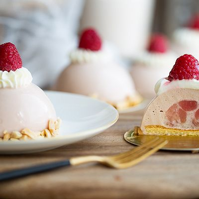 草莓蜜桃慕斯
