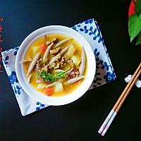 莜麦面鱼儿(附咖喱牛肉土豆卤)