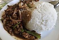 黑椒鸡肉饭的做法
