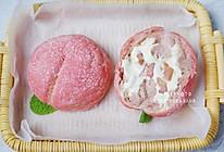 蜜桃冰面包,冰激凌的果味夏天#爱乐甜夏日轻质甜蜜#的做法