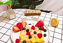 #餐桌上的春日限定#牛油果滑蛋虾仁吐司的做法