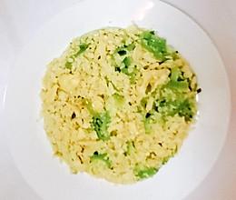 【生酮饮食·真酮】花椰菜蛋炒饭(减肥食谱,跟着一起瘦)的做法