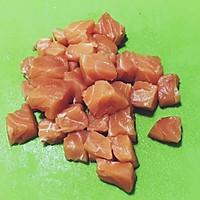 三文鱼蔬果沙拉的做法图解6