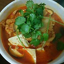 韩式泡菜汤,冬日里的暖身汤