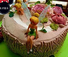 生日蛋糕(森林仙子)的做法