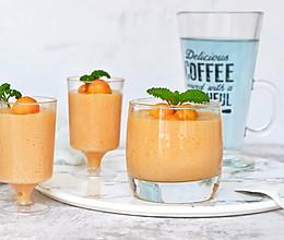 木瓜酸奶冻#百变水果花样吃#的做法