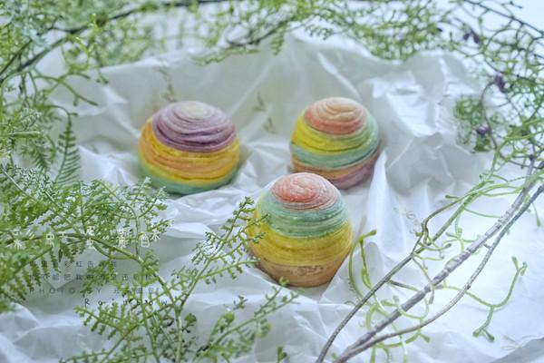 给自己的少女心一点奖励——彩虹蛋黄酥
