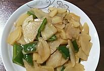 醋溜尖椒土豆片的做法