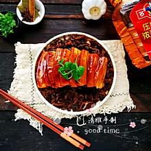 #多力金牌大厨带回家-天津站#梅干菜扣肉
