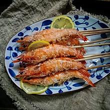 柠檬盐焗大虾