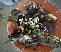 梅干菜蒸汪刺鱼的做法