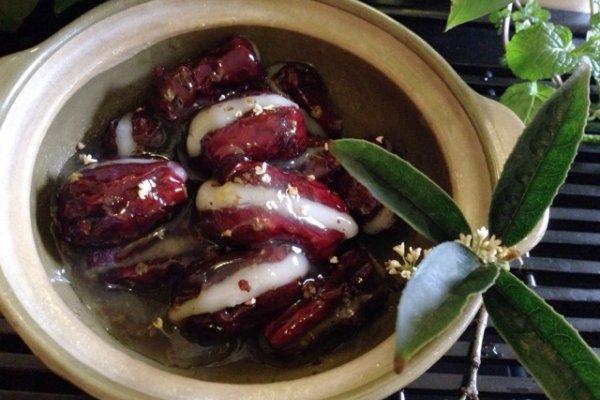 桂花糯米枣的做法