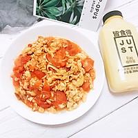快手番茄炒蛋#植物蛋+美味尝鲜记#的做法图解8