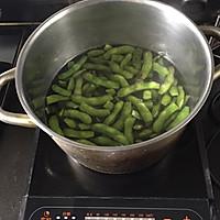 凉拌毛豆的做法图解2