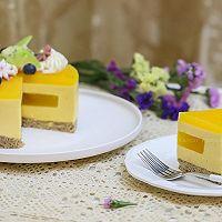 百香果南瓜慕斯生日蛋糕(百香果果冻夹层)的做法图解24