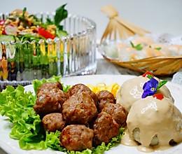如何给宝宝做肉丸大餐的做法