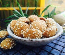 芝麻杏仁小饼的做法