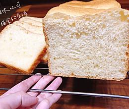 甜味吐司(厨师机揉手套膜教程)的做法