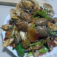 香辣豉香花蛤的做法图解9