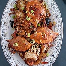 香辣蟹(家常版)