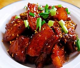 桂花红烧肉的做法