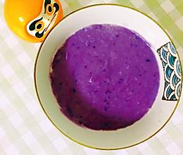 辅食日记—紫薯山药燕麦糊的做法