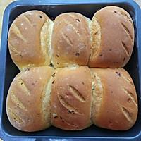 中种超软—不需手套膜—蔓越莓无黄油拉丝面包的做法图解8