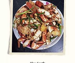 葱香面包蟹的做法