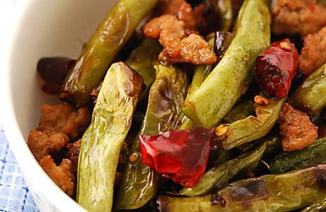川菜·干煸豆角的做法