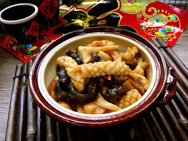 大连特色年夜菜——海鲜全家福