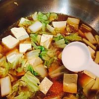 白菜炖豆腐的做法图解7