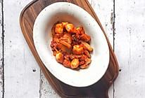 辣白菜五花肉包浆豆腐的做法