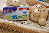 造型可爱做法简单,卡通全麦贝果面包,低糖低油,Q弹有嚼劲的做法